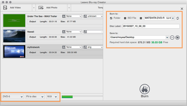How to Burn M4V to Blu-ray/ DVD on Mac & PC Losslessly