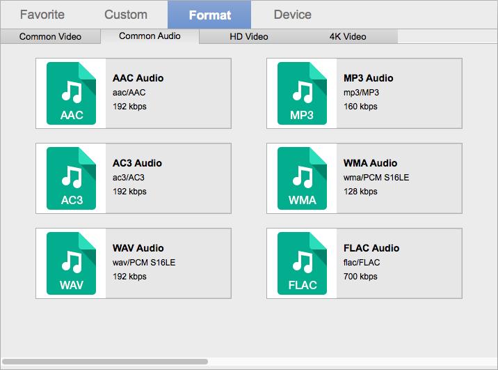 Rip Blu-ray to MP3, FLAC, WAV, AAC, M4A, AC3 on Mac & PC [Full ...